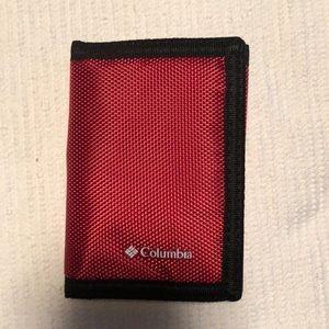 Red Columbia Men's RFID Blocking Wallet